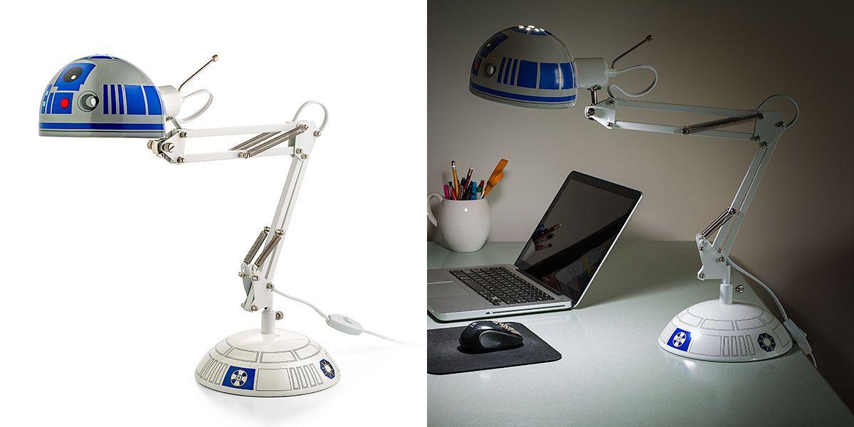 R2 D2 Architectural Desk Lamp Star Wars Desk Lamp