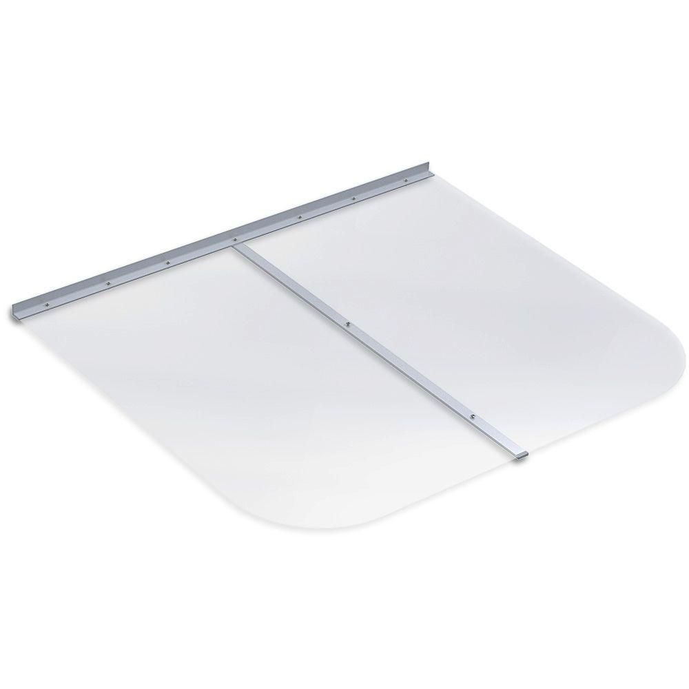 Ultra Protect 45 In X 38 In Rectangular Clear Polycarbonate