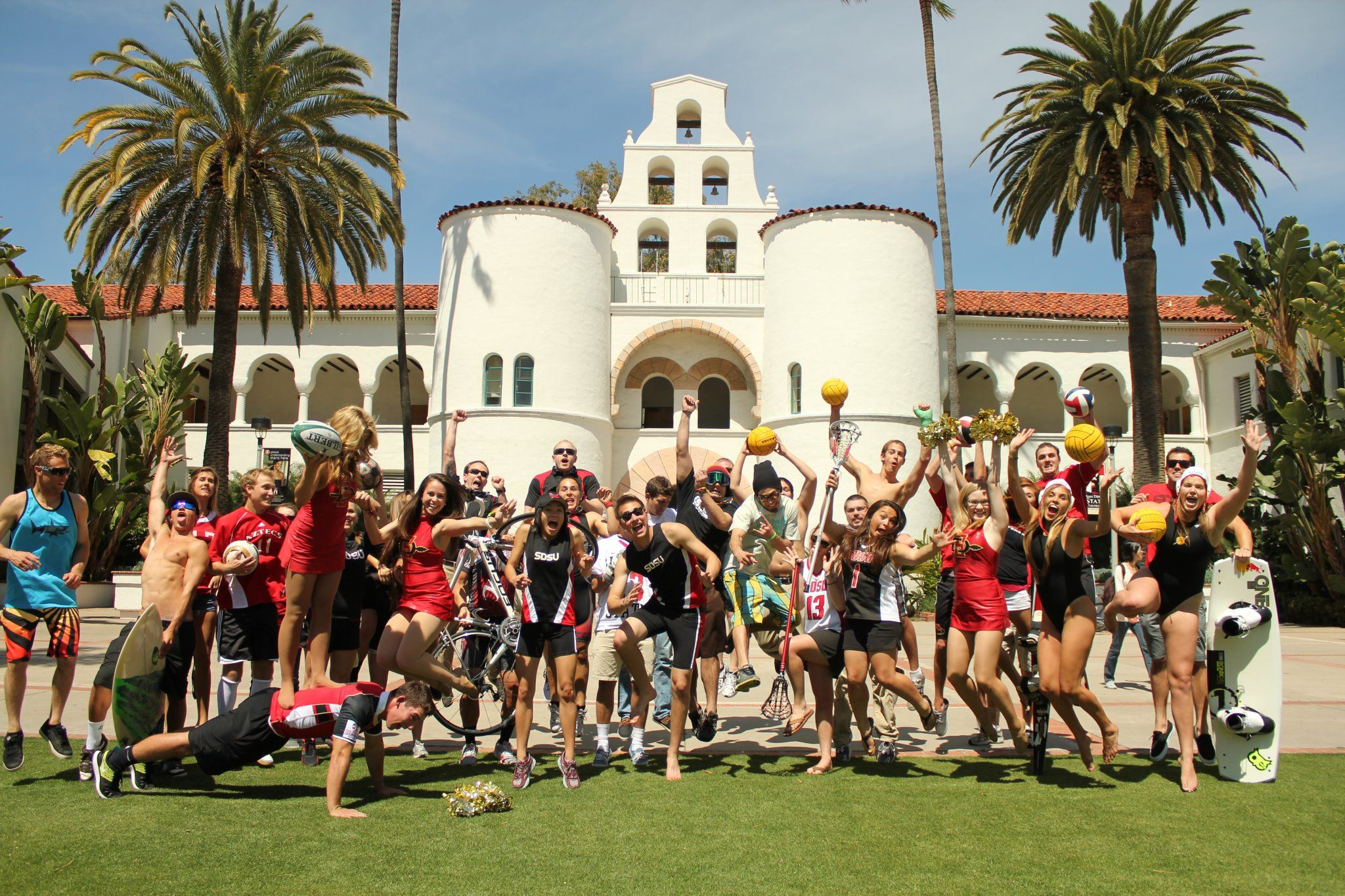 Aztec Sports Clubs Stay Active At The Aztec Recreation Center Arc College Life Life Recreation Centers