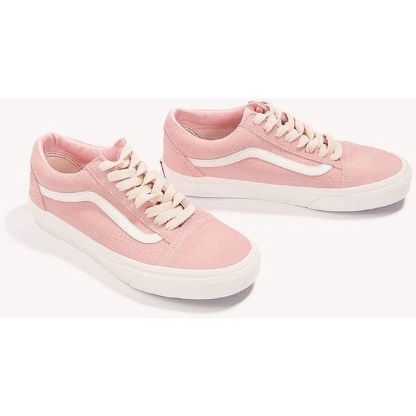 8fd2035f09ac VANS Lace Old Skool (325 BRL) ❤ liked on Polyvore featuring shoes, round  cap, round toe shoes, vans footwear, rubber sole shoes and lacy shoes