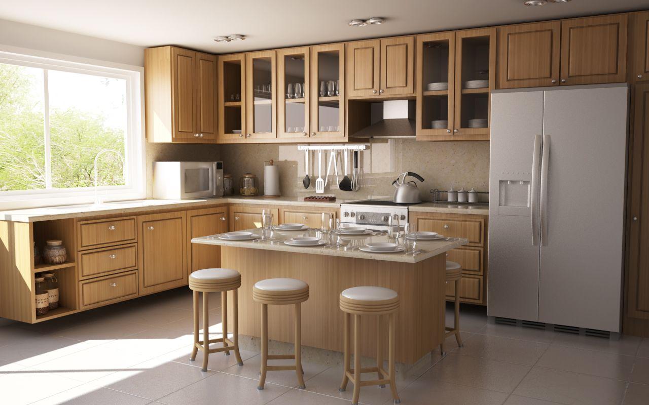Beautiful Kitchen floor plans