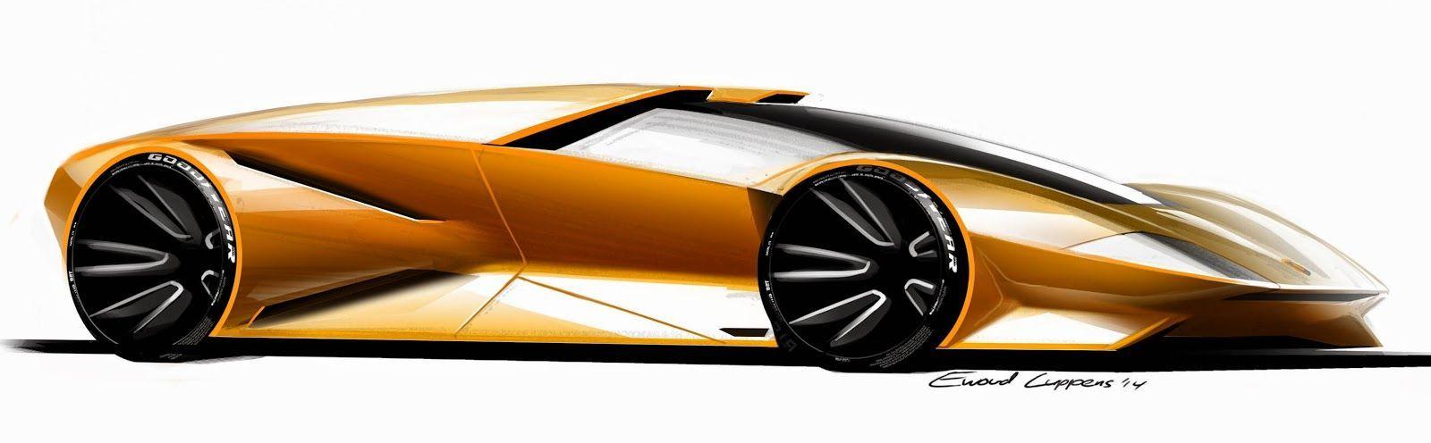 Pin By Kare On Lamborghini Lamborghini Concept Car Design Sketch