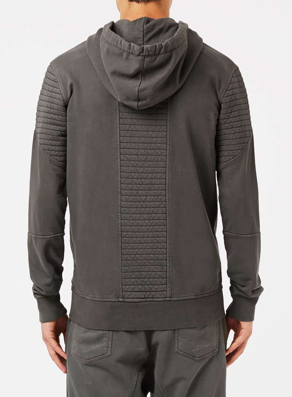 a18d4f68 CRIMINAL DAMAGE Washed Black Ribbed Hoodie in 2019 | HOMBRE ...