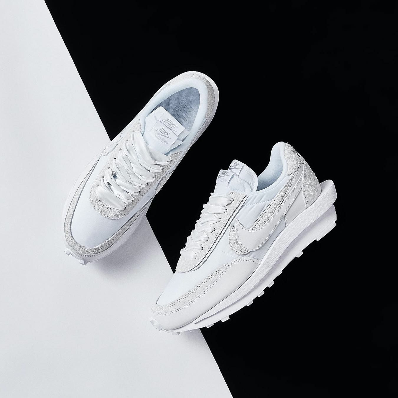 Sacai x Nike LDV Waffle White