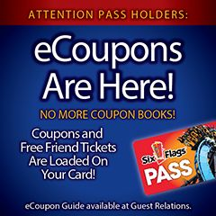 Season Pass Perks Six Flags New England Six Flags Coupon Book Six Flags Season Pass