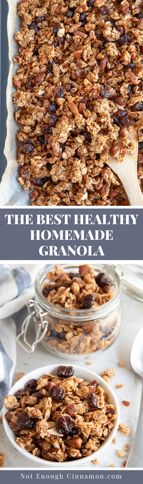 An Easy Recipe To Make The Best Homemade Healthy Granola It S Much Cheaper Than Store Bought Natural In 2020 Homemade Granola Healthy Granola Healthy Granola Recipes