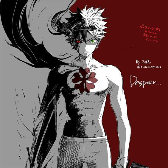 Black Clover - anime - Fanart - desenho - draw - feito a ...