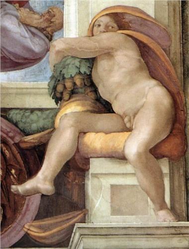 Michelangelo Paintings Renaissance