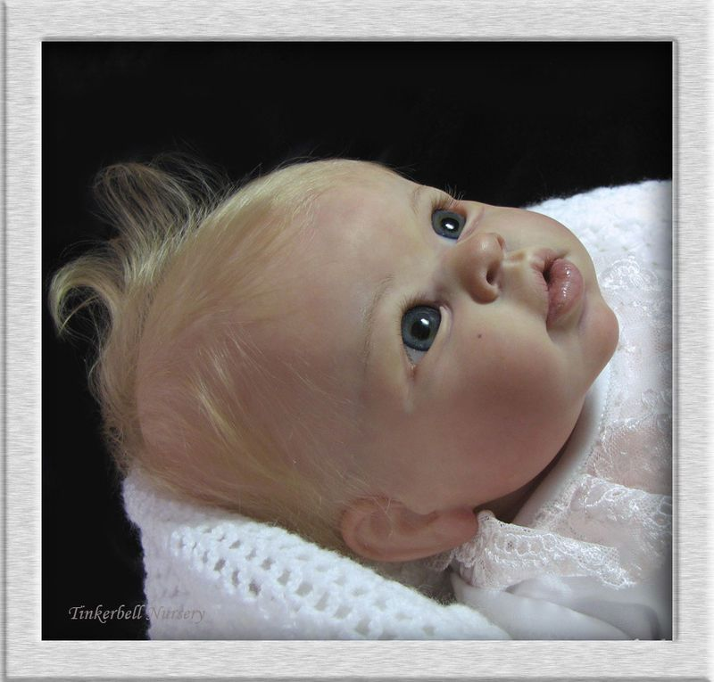 Tinkerbell Nursery Prototype baby reborn doll by Helen Jalland for The Cradle pose | Wonderfinds.com