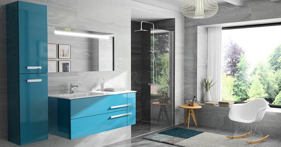 Meuble Vasque Et Plan De Toilette En Ceramique Colore Decotec Salle De Bain Meuble Vasque Meuble