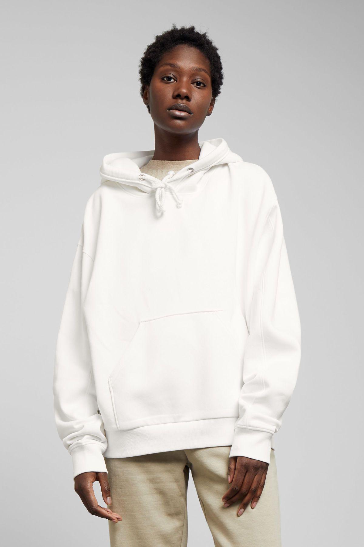 Ailin Hooded Sweatshirt White Hoodies Sweatshirts Weekday Gb Hooded Sweatshirts White Sweatshirt Beige Hoodies [ 1800 x 1200 Pixel ]