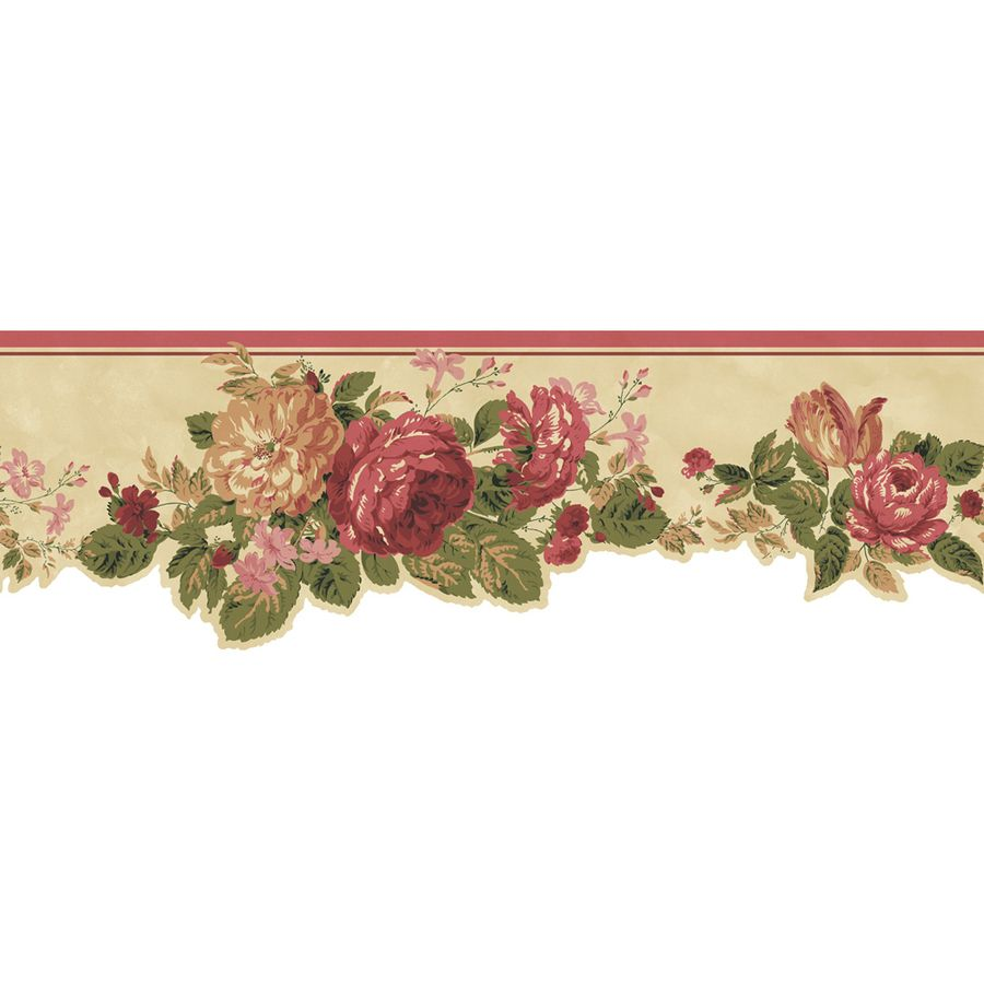 Pink Roses Wallpaper Border Source URL http//www.lowes