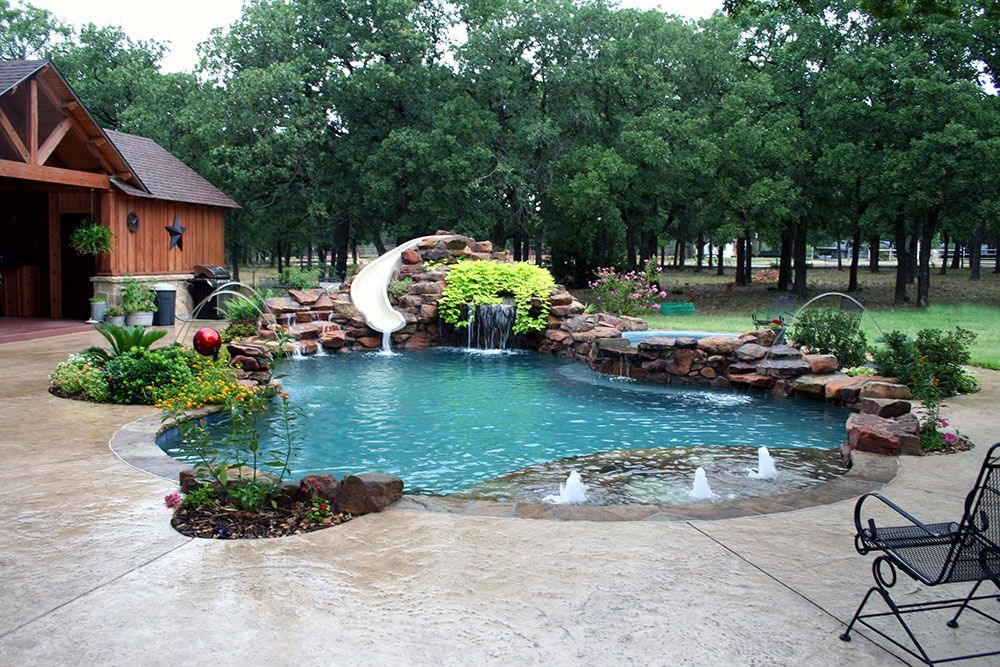 Ft. Worth Custom Pool Design Photos, Weatherford, Keller