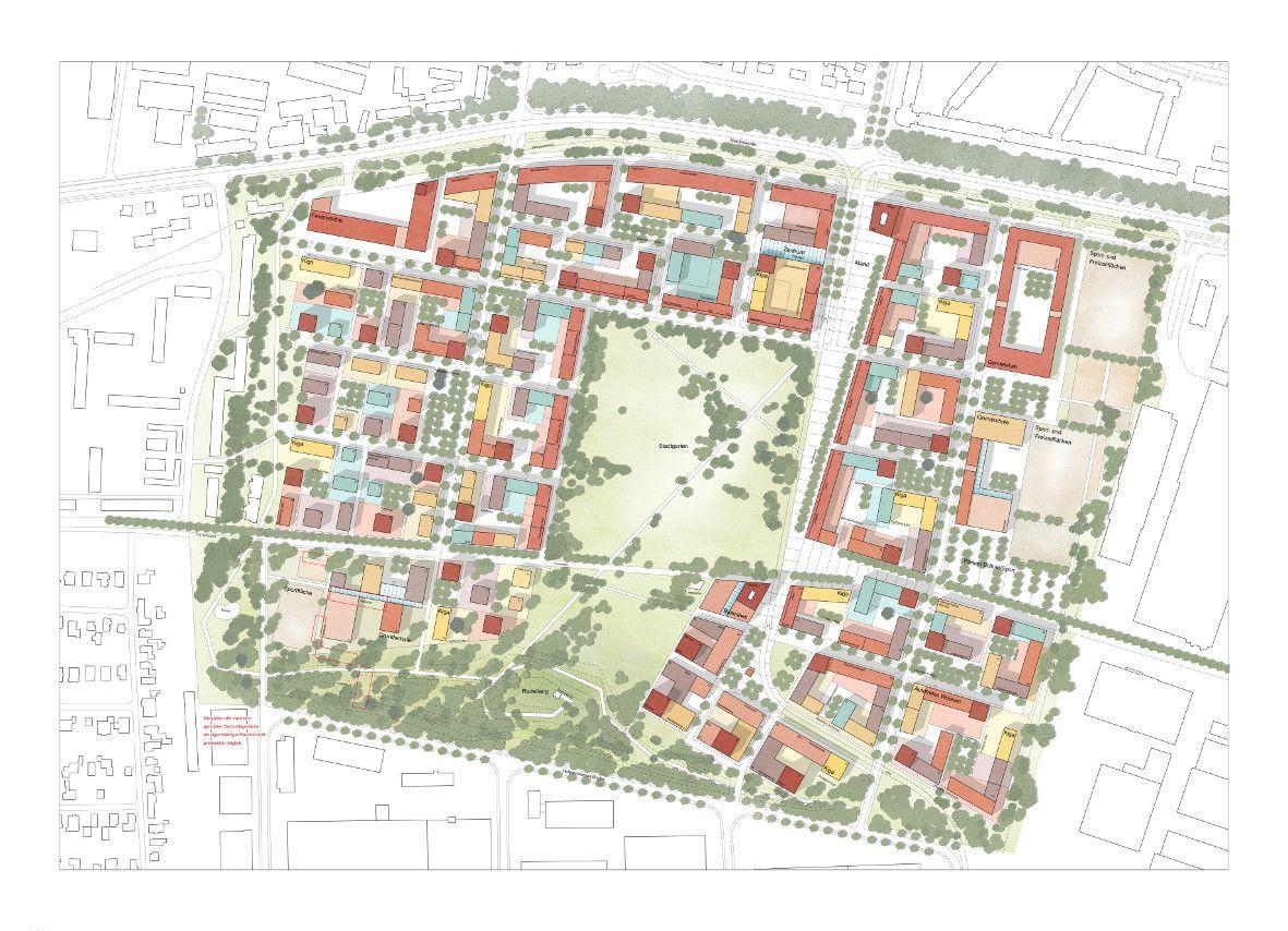 Landschaftsarchitekten München heimat in der bayernkaserne wettbewerb in münchen entschieden