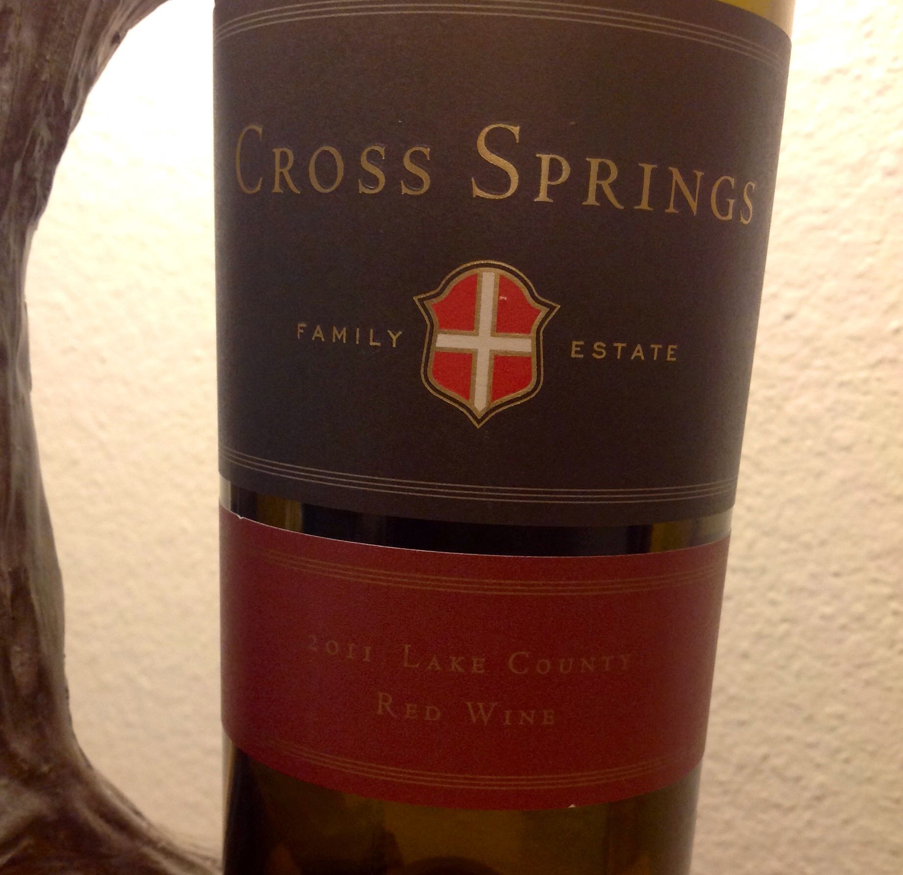 Cross Springs Family Estate 2011 Lake County Red Abc Spring Family Family Estate Red Wine