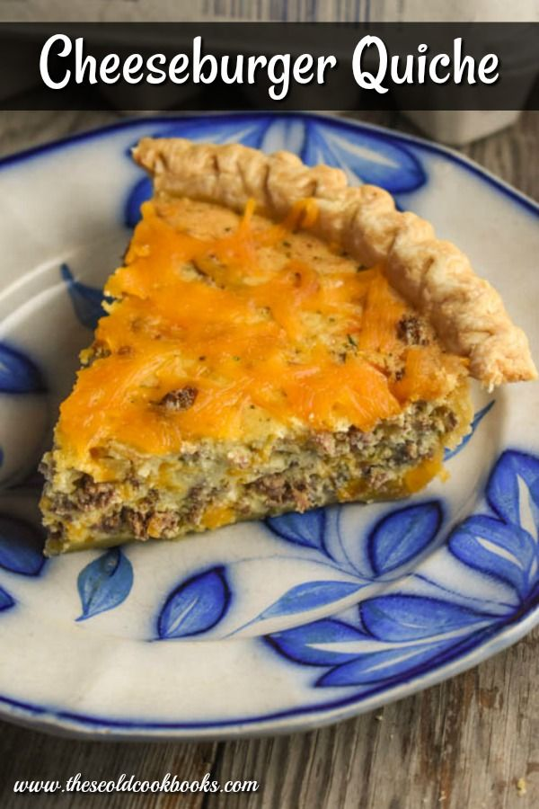 Cheeseburger Quiche images