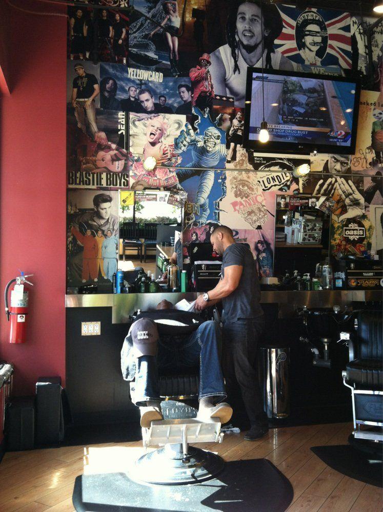Floyd S 99 Barbershop Photos Barber Shop Best Barber Shop Barber Shop Decor