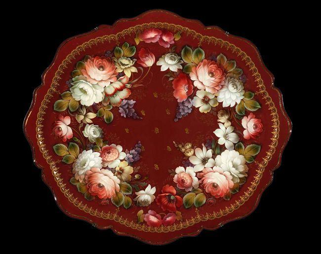 Mikhail Lebedev :: Zhostovo decorative art manufactory