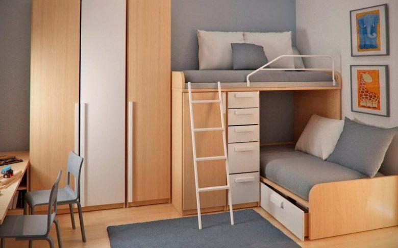 Ideas para decorar una habitación infantil doble pequeña ...