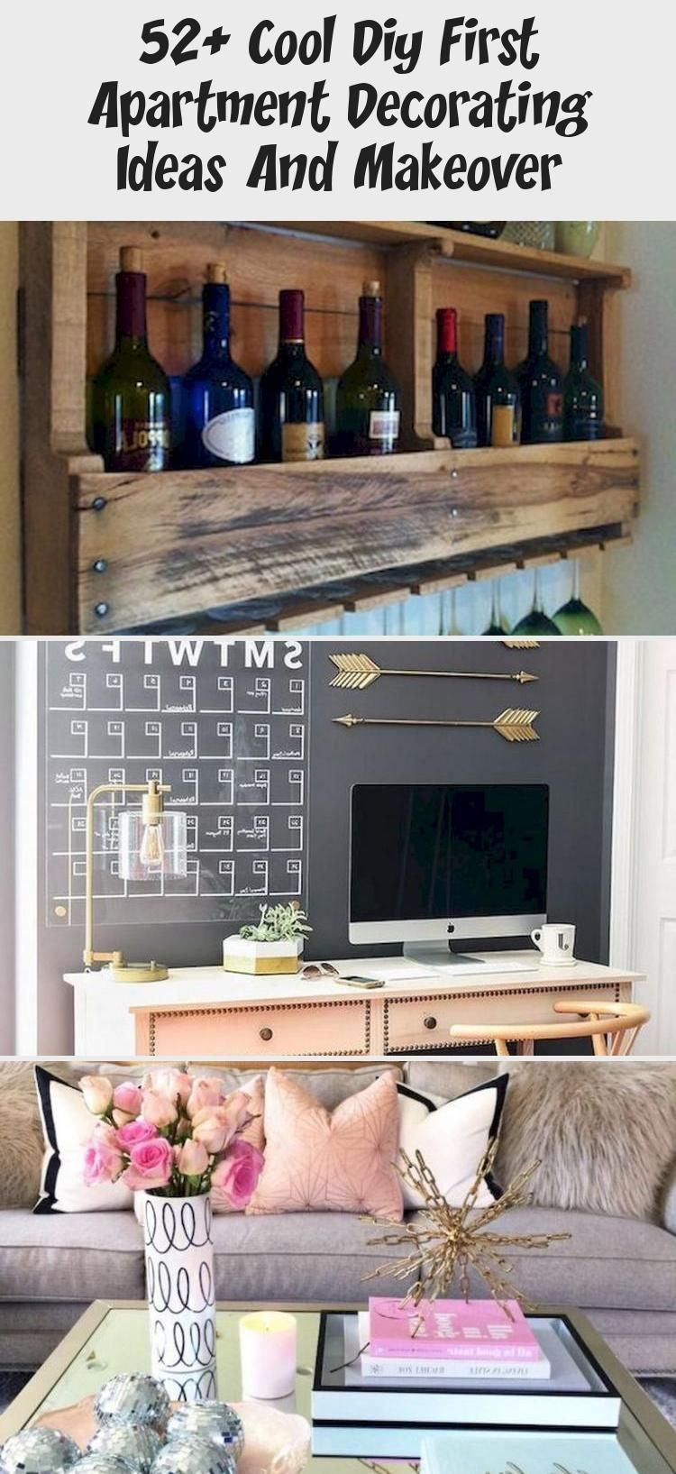 52 Cool Diy First Apartment Decorating Ideas And Makeover First