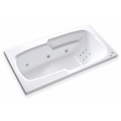 Carver Tubs Hygienic Aqua Massage 65 X 32 Whirlpool Bathtub