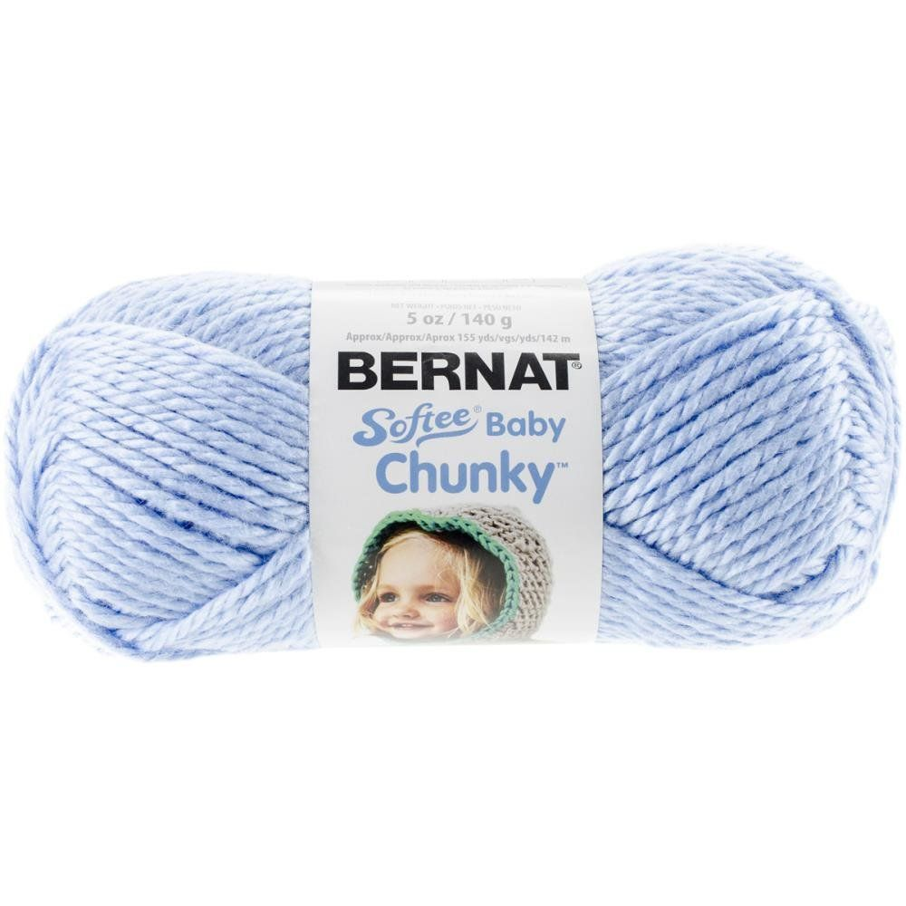 Clear Skies Blue Bernat Softee Baby Chunky Yarn 96003 en 2018 ...
