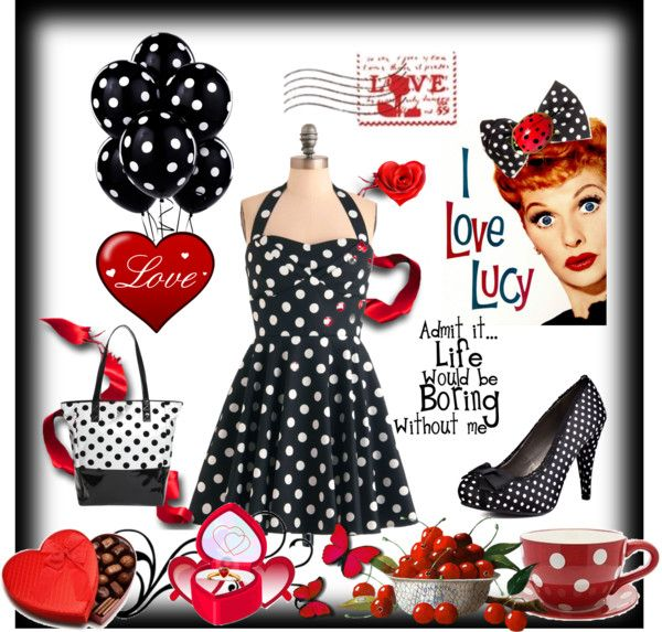 """""""I LOVE LUCY"""" by gwenny on Polyvore"""