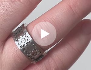 Watch The Video Kinetic Gear Ring