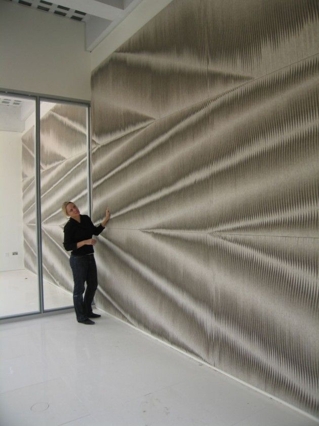 anne kyyro quinn - felt wall covering