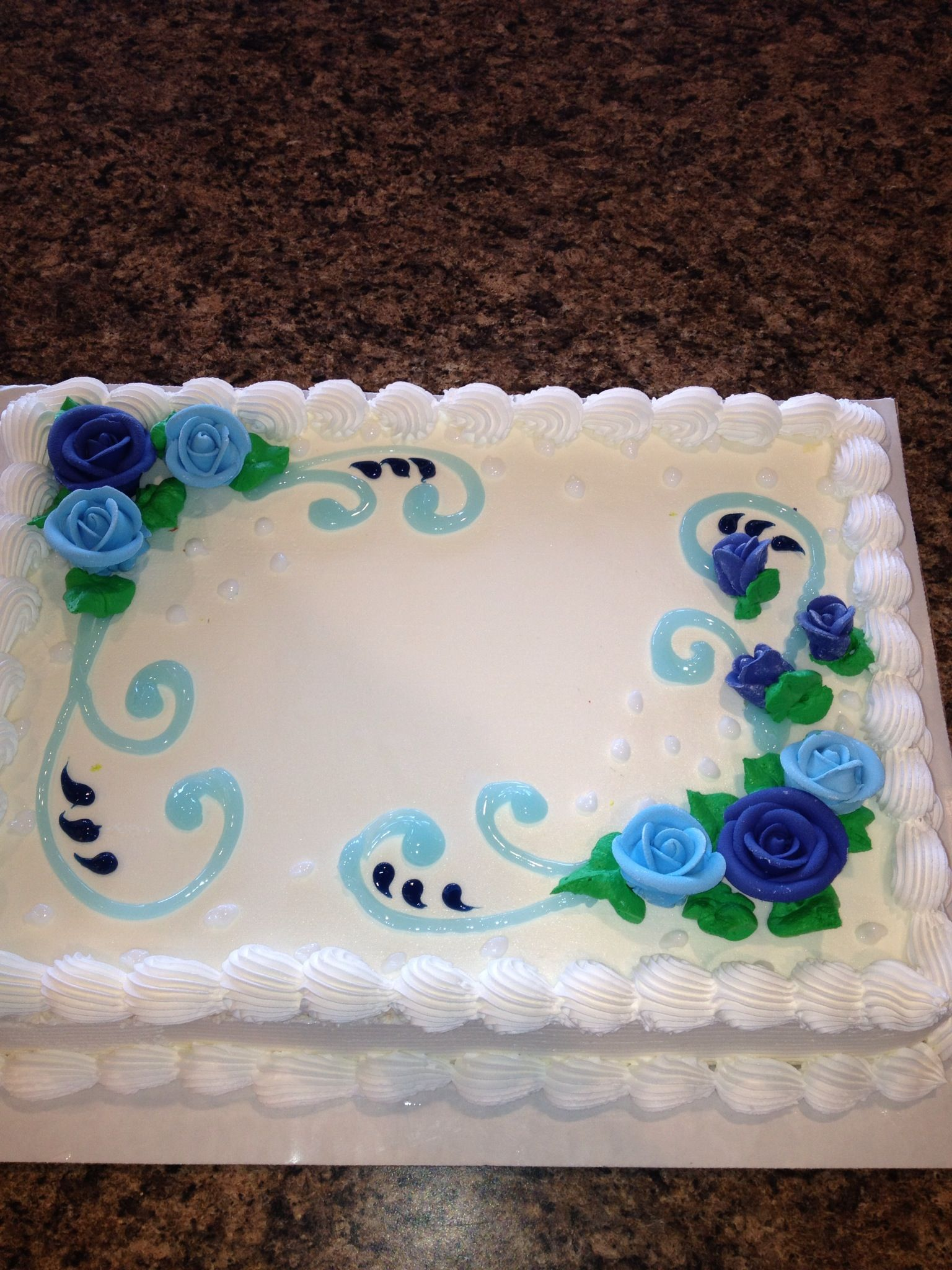 Cake Designs At Dairy Queen : Roses...Dq cakes...Dairy Queen ? Pinteres?
