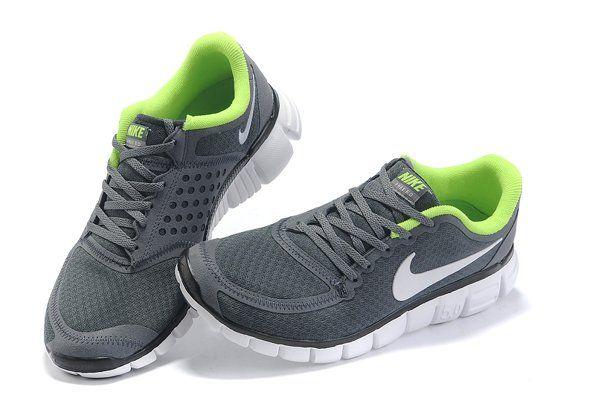 Nike Free 5.0 V5- Gray White running shoes