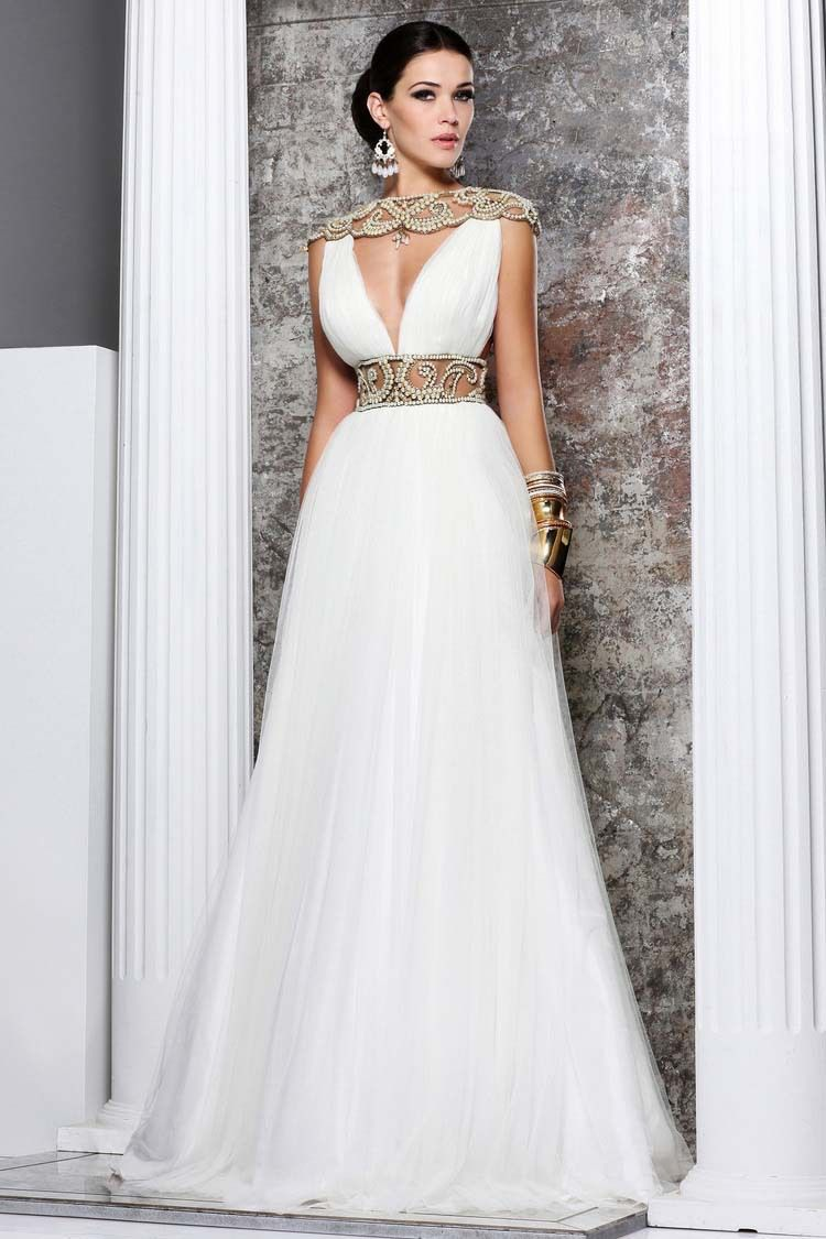 1000  images about Stunning White Evening Dresses on Pinterest ...
