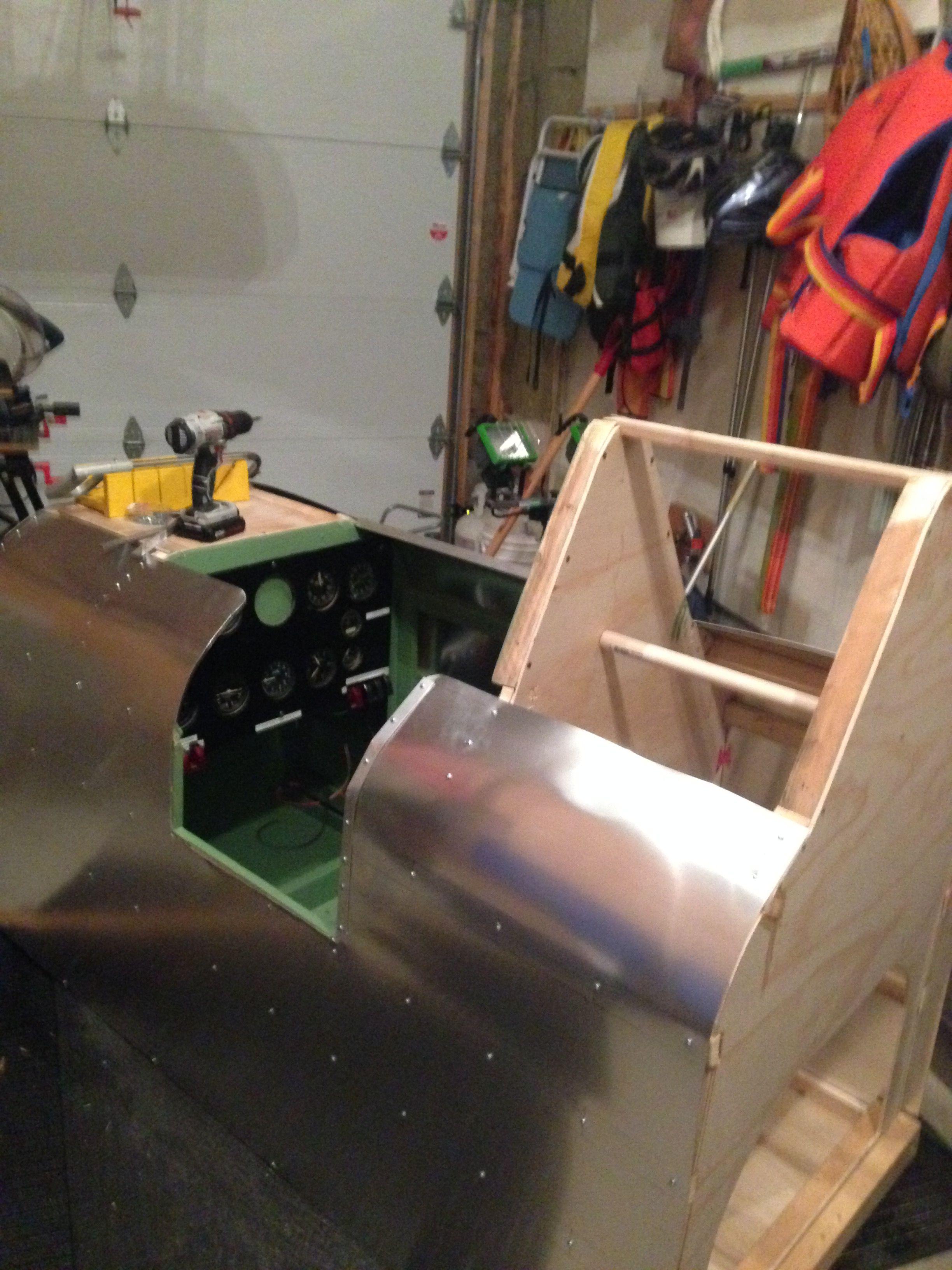 installation of aluminum sheet( Builder Kanukexplorer