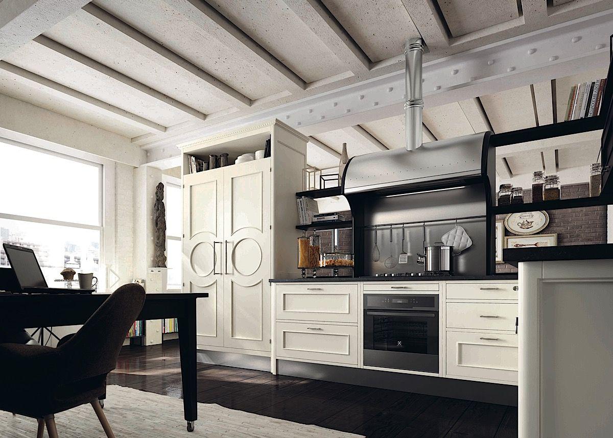Superb Küche Landhaus Weiß Schwarz Design Ideas