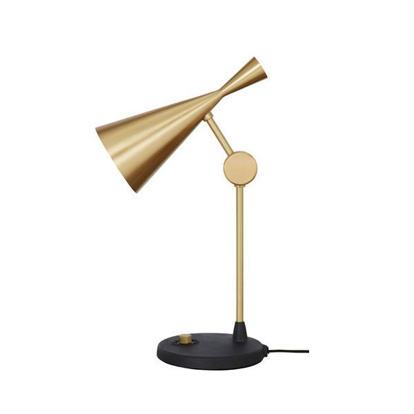 Beat Table Lamp Brass By Tom Dixon Brass Table Lamps Lamp Table Lamp