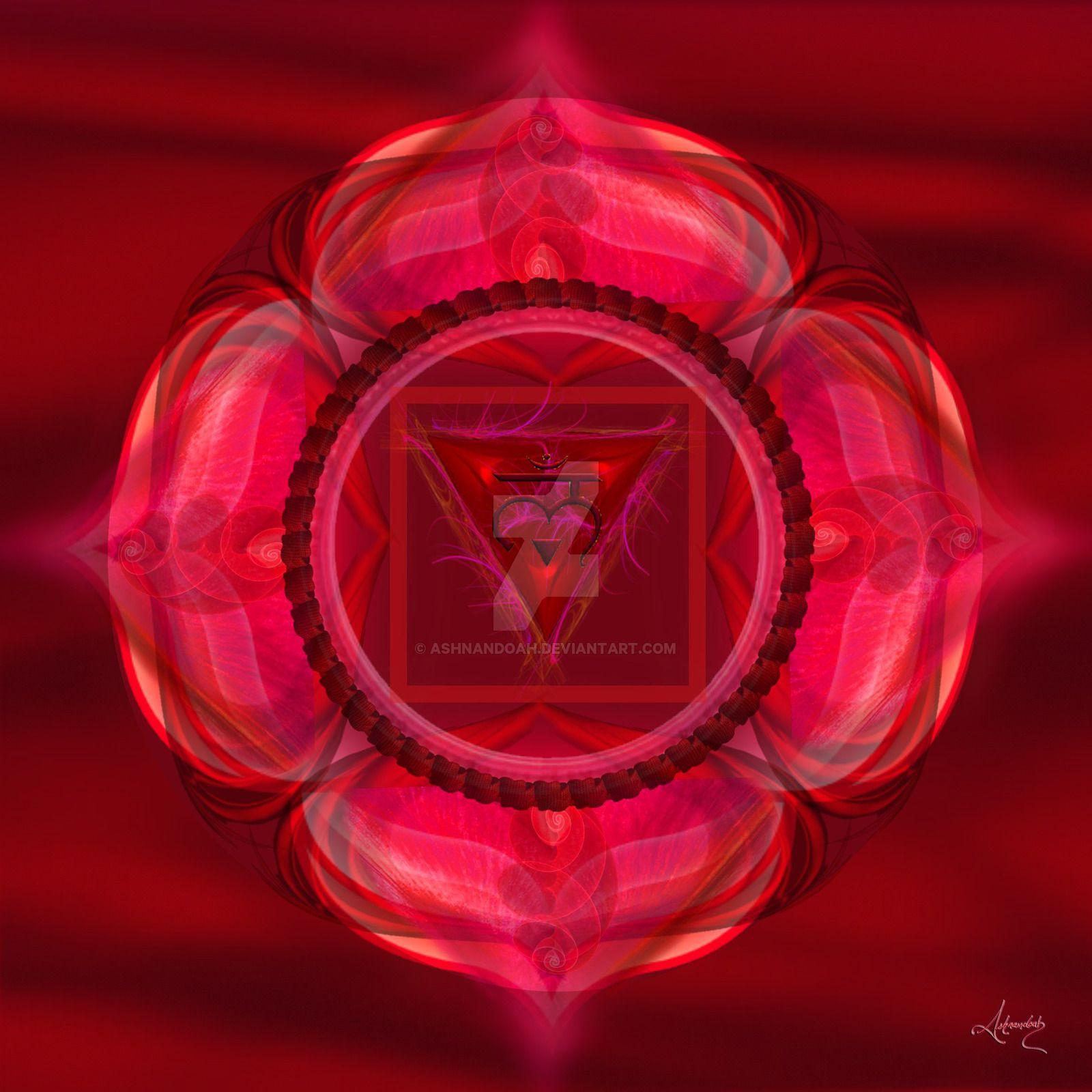 Root Chakra Symbol Muladhara By Ashnandoah On Deviantart Chakra