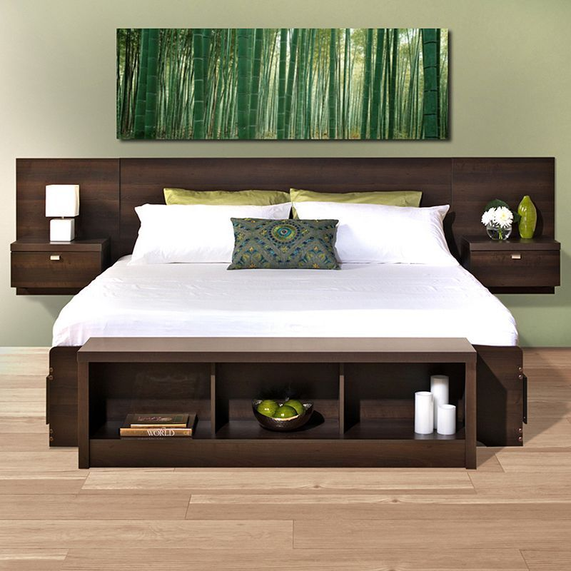 Prepac Series 9 Designer Floating Headboard