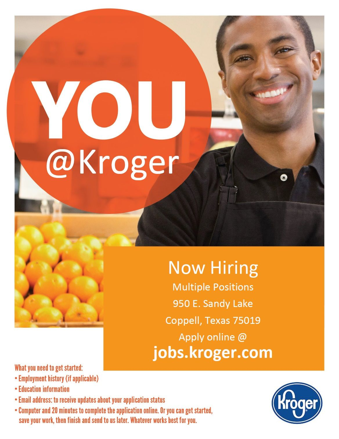 Kroger is hiring in Coppell, TX. Check them out