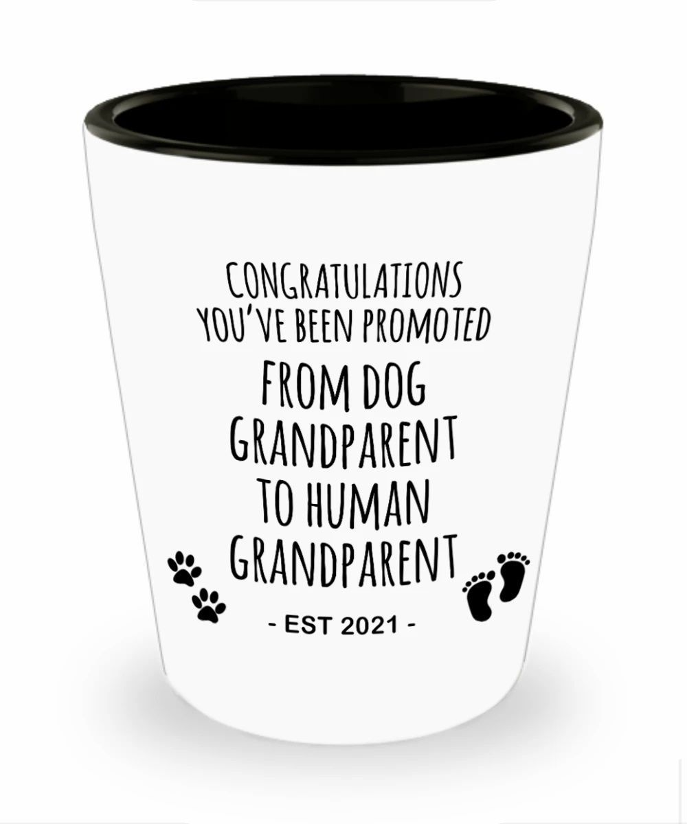 Dog Grandparents To Human Grandparents Picture