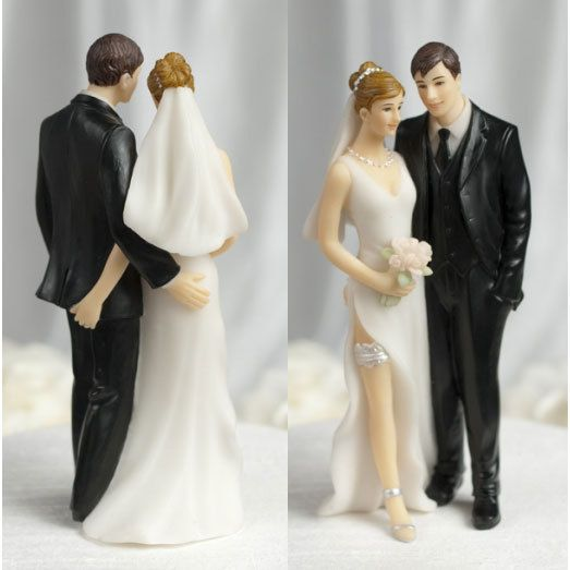 Tender Touch Funny Wedding Cake Toppers Caketop