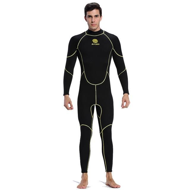 Men S Spearfishing Wetsuit 3Mm Neoprene Scr Elastic Diving Suit Waterproof  Warm Surfing Wetsuits Full Suit f36054684