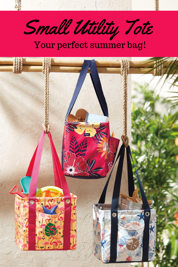 b8d74fcbf8b Small Utility Tote - Pinwheel Party in 2019   Thirty-One   Utility ...