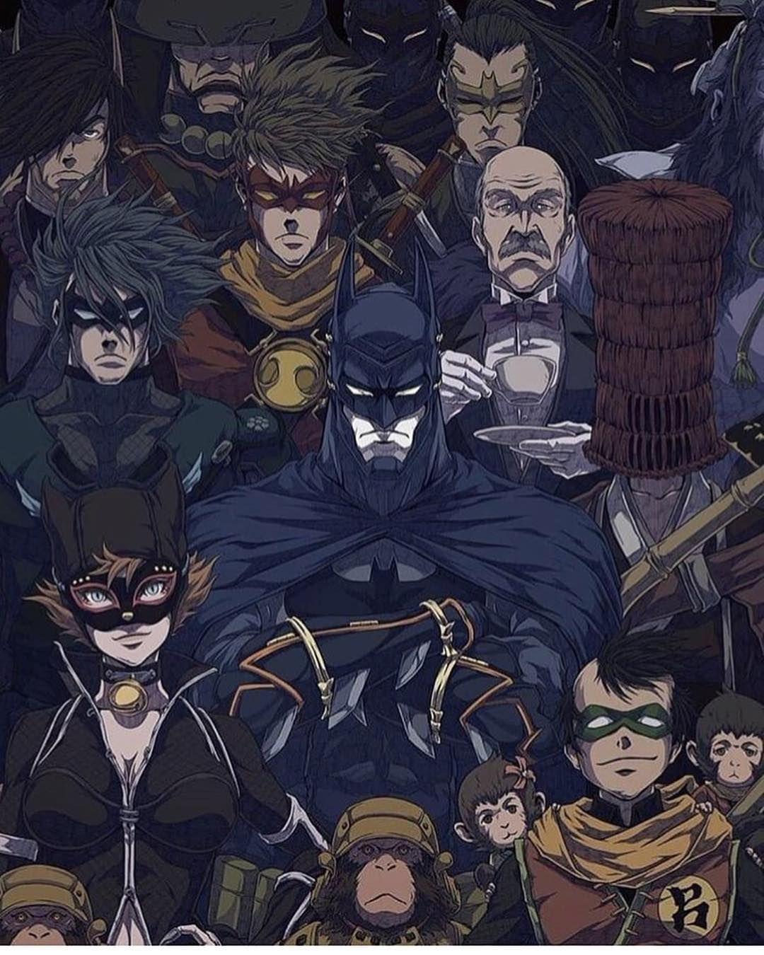 Batman Ninja Catwoman Wallpaper