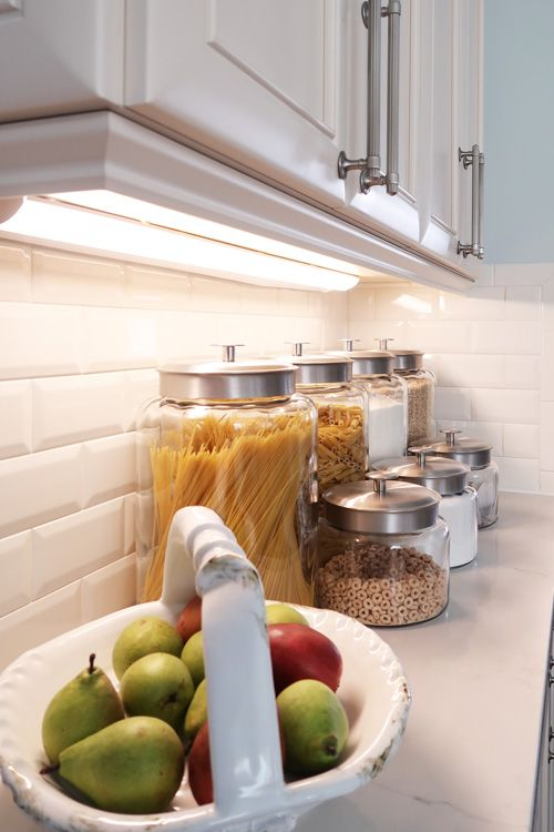 How To Install Led Under Cabinet Lights In The Kitchen For