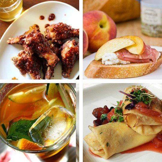Entertaining idea an international potluck for the olympics olympic international food ideas germany german style soft pretzels india spiced chickpeas with anardana italy peach and prosciutto bruschetta forumfinder Image collections