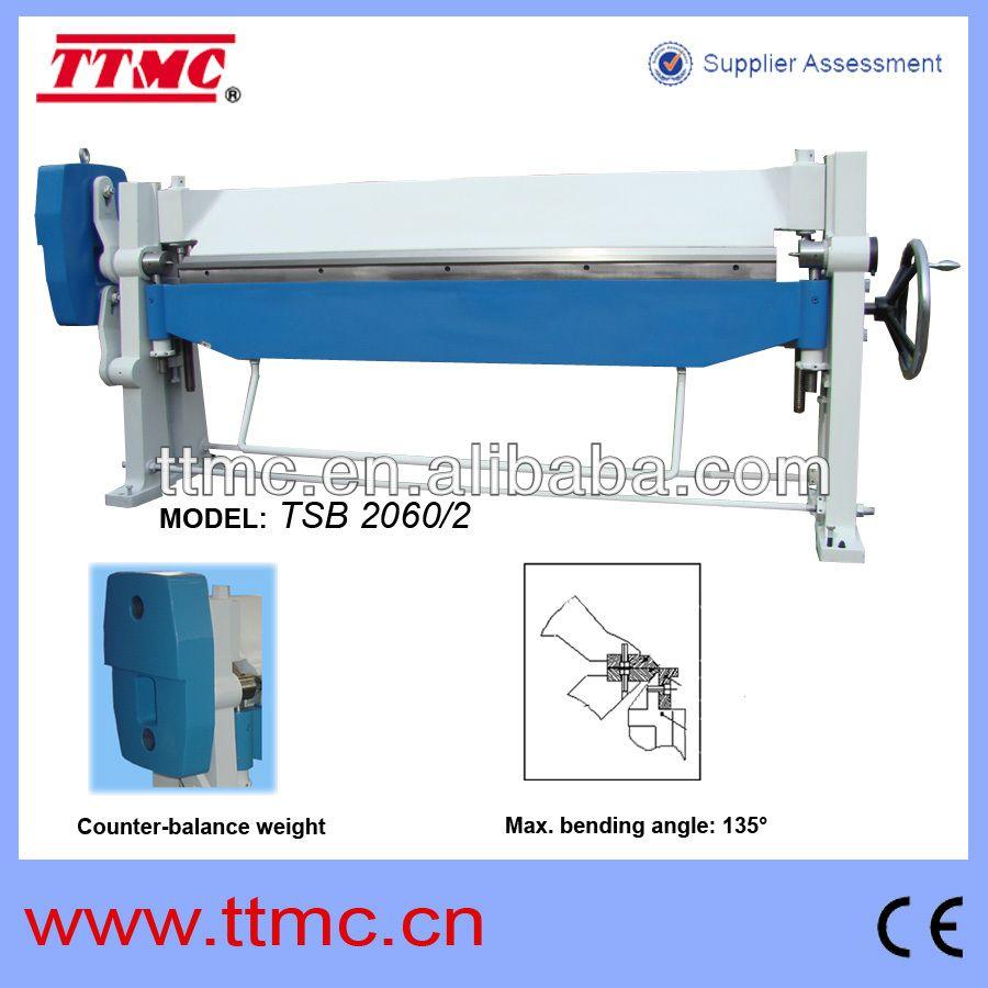 2060mm Width Sheet Metal Manual Folding Machine View Manual Folding Machine Ttmc Product Details From Tengzhou Tri Union Ma Folding Machine Sheet Metal Sheet