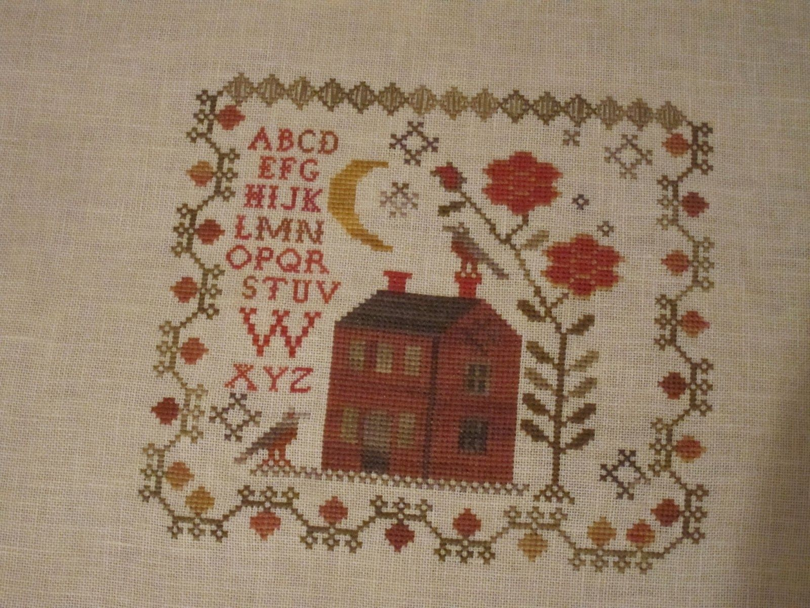 Bittersweet September Bbd Cross Stitch Samplers 123
