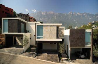 FACHADAS-CASAS-MODERNAS | Fachadas | Architecture, House ...