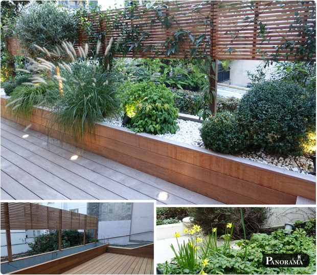 terrasse bois exotique bac sur mesure brisevue en ipé paris 9