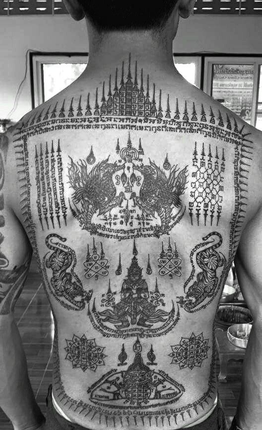 tattoo thailand pinterest tattoo thai tattoo and sak yant tattoo. Black Bedroom Furniture Sets. Home Design Ideas